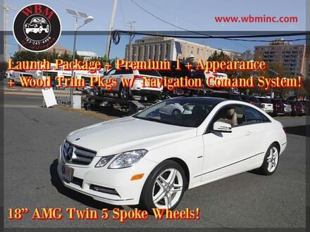 2012_Mercedes-Benz_E 350_Sport w/ Premium Package_ Arlington VA