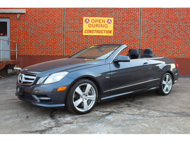 2012 Mercedes-Benz E 550 Convertible Merriam KS