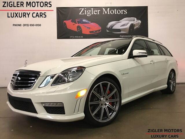 2012 Mercedes-Benz E 63 AMG Wagon PERFORMANCE PKG 5 Rare 1-Owner 15kmi *PRISTINE*Clean Carfax Serious inquiry only please Addison TX