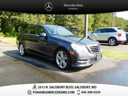 2012_Mercedes-Benz_E-Class_E 350 4MATIC®_ Salisbury MD