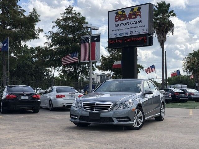 2012 Mercedes-Benz E-Class E 350 Luxury BlueTEC Houston TX