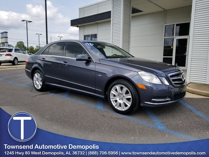 2012 Mercedes-Benz E-Class E 350 Luxury Demopolis AL