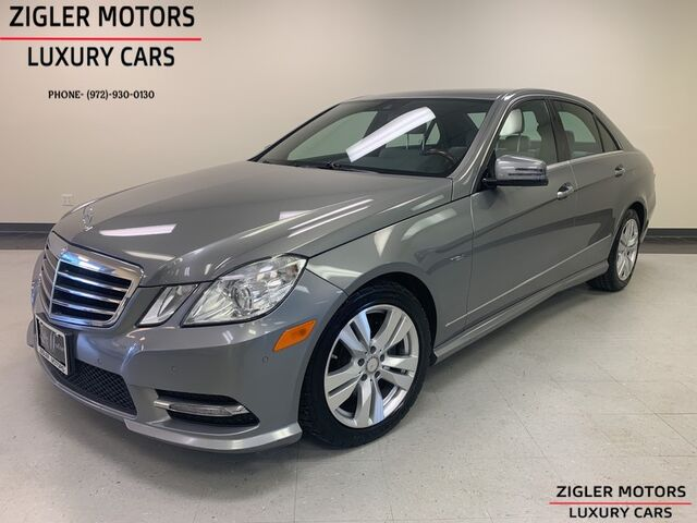 2012 Mercedes-Benz E-Class E 350 Sport BlueTEC(Diesel) Driver Assist Addison TX