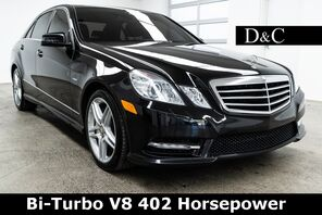 2012_Mercedes-Benz_E-Class_E 550 4MATIC Bi-Turbo V8 402 Horsepower_ Portland OR