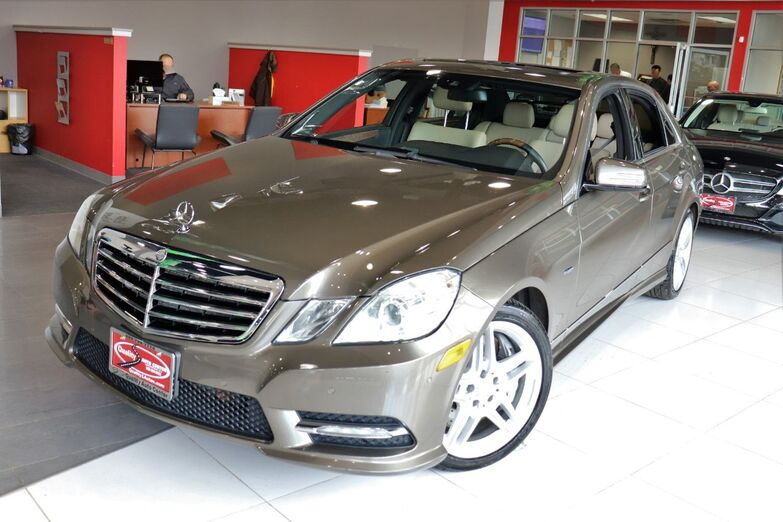 2012 Mercedes-Benz E-Class E 550 Sport Premium Lane Tracking Package Parktronic Sunroof Navigation 1 Owner Springfield NJ