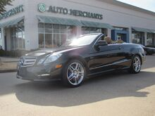 2012_Mercedes-Benz_E-Class_E550 Cabriolet AIR SCARF, LEATHER SEATS, NAVIGATION SYSTEM, SATELLITE RADIO, PREMIUM STEREO_ Plano TX