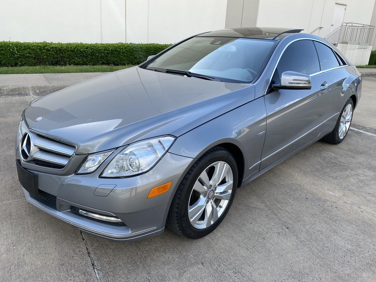 2012 Mercedes-Benz E350 BlueEfficiency E 350 AMG PKG