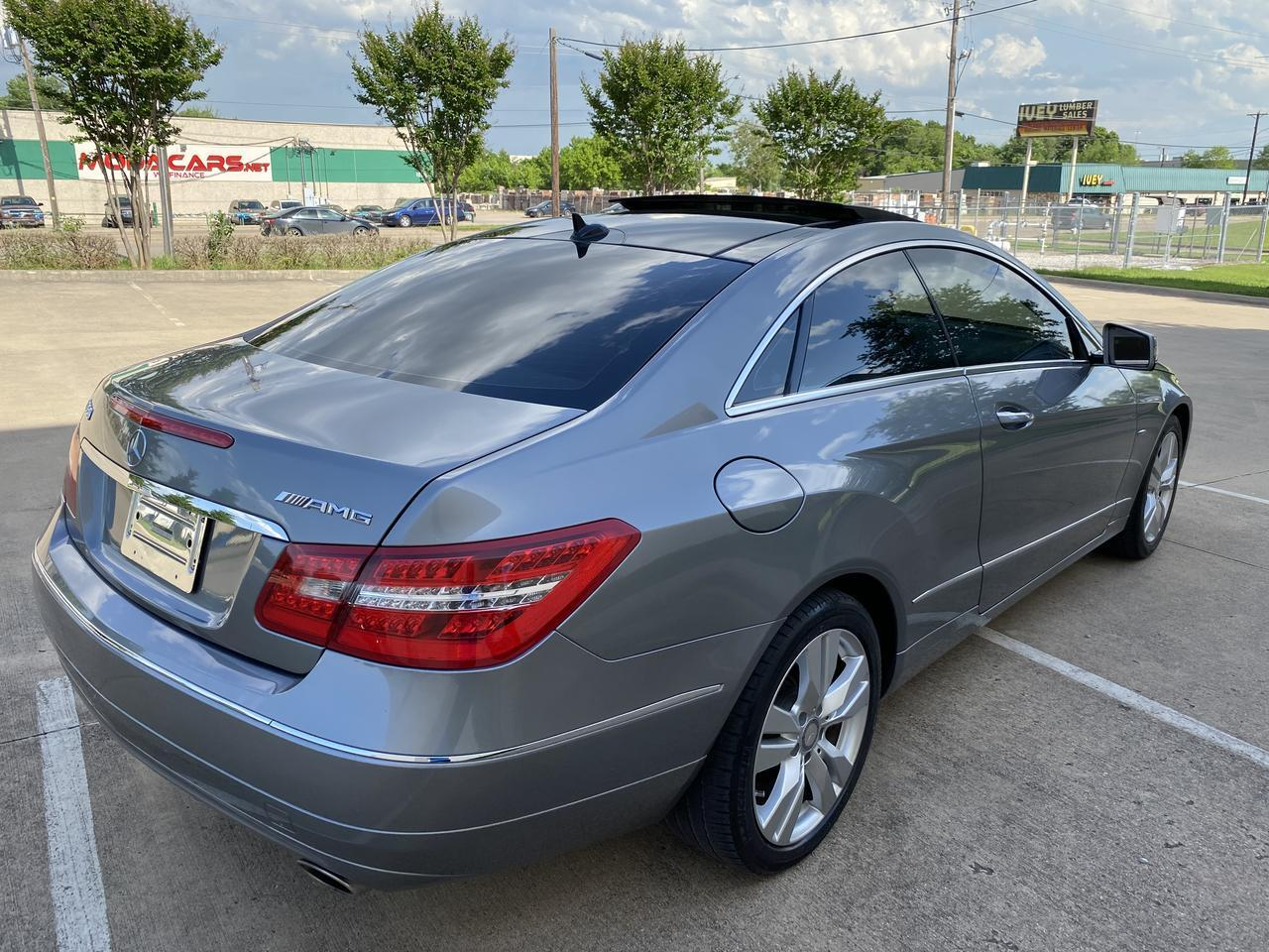 2012 Mercedes-Benz E350 BlueEfficiency E 350 AMG PKG Dallas TX
