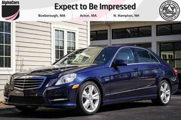 2012_Mercedes-Benz_E350_Sport_ Boxborough MA