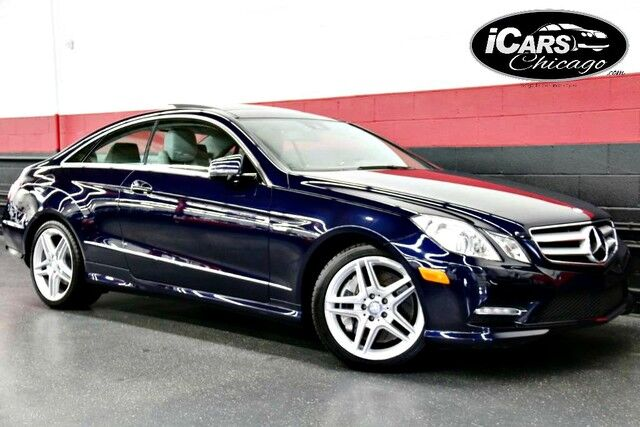 2012 Mercedes Benz E550 AMG Sport 2dr Coupe Chicago IL ...