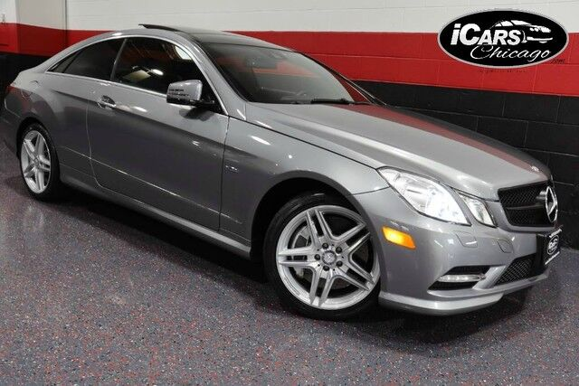 2012 Mercedes-Benz E550 AMG Sport 2dr Coupe Chicago IL