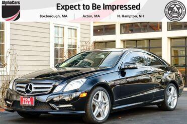 2012_Mercedes-Benz_E550_AMG Sport Coupe_ Boxborough MA