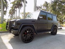 2012_Mercedes-Benz_G-Class_G 550_ Hollywood FL