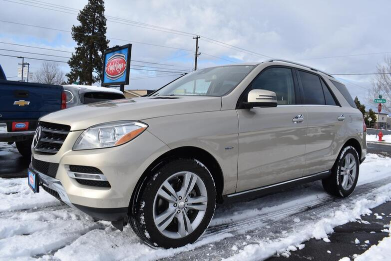 2012 Mercedes-Benz M-Class 4MATIC ML 350 BlueTEC Bend OR