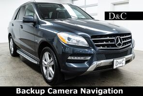 2012_Mercedes-Benz_M-Class_ML 350 4MATIC Backup Camera Navigation_ Portland OR