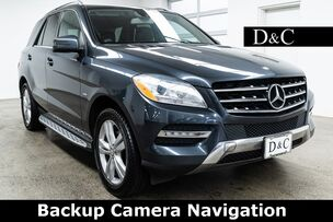 2012 Mercedes-Benz M-Class ML 350 4MATIC Backup Camera Navigation