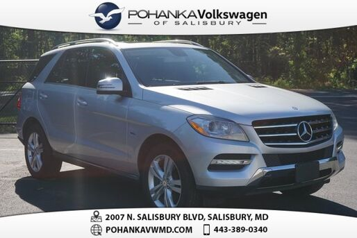 2012_Mercedes-Benz_M-Class_ML 350 4MATIC® **MANAGER SPECIAL!!**_ Salisbury MD