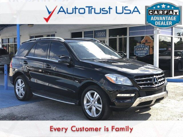 2012 Mercedes-Benz M-Class ML 350 4MATIC Miami FL