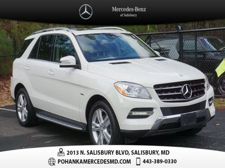 2012_Mercedes-Benz_M-Class_ML 350 4MATIC®_ Salisbury MD