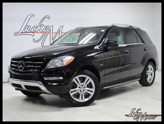2012_Mercedes-Benz_M-Class_ML 350 BlueTEC 1 Owner P1 Pkg Lane Keep Pkg Keyless Go_ Villa Park IL