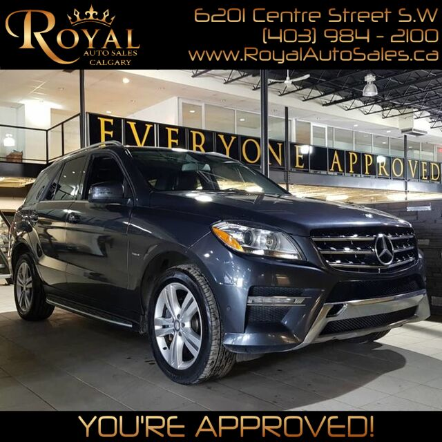 2012 Mercedes-Benz M-Class ML 350 BlueTEC Calgary AB