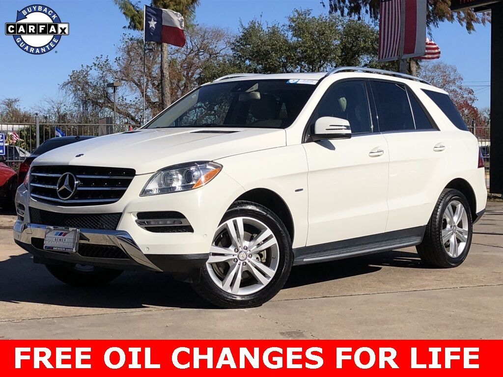 2012 Mercedes-Benz M-Class ML 350 Houston TX