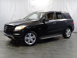 2012_Mercedes-Benz_M-Class_ML350 / 3.5L V6 Engine / AWD 4Matic / Push Start / Sunroof / Navigation / Rear View Camera_ Addison IL