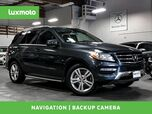 2012 Mercedes-Benz ML 350 4MATIC HS NAV BUC