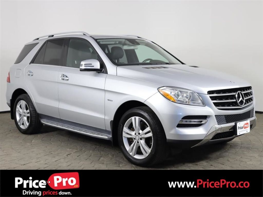 2012 Mercedes-Benz ML 350 4MATIC w/Nav/Sunroof/Rear DVD Maumee OH