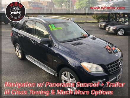 2012_Mercedes-Benz_ML 350_4MATIC w/ Premium Package_ Arlington VA