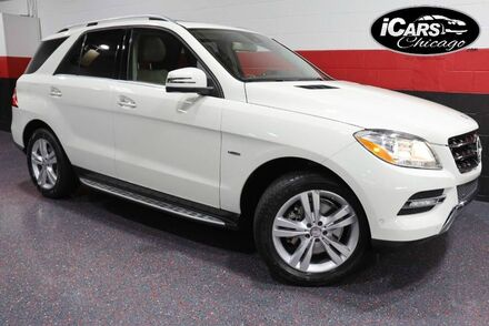 2012_Mercedes-Benz_ML350_4-Matic 4dr Suv_ Chicago IL