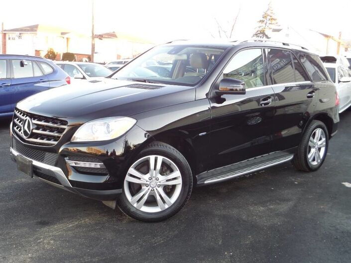2012 Mercedes-Benz ML350 4-Matic P1 Package Elmont NY