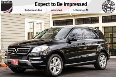 2012_Mercedes-Benz_ML350_4Matic_ Boxborough MA