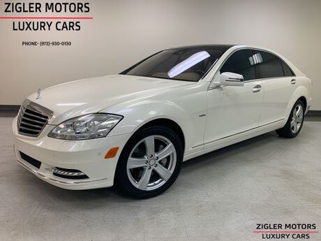 2012 Mercedes-Benz S-Class S 550 4Matic Diamond White Panoramic Roof Backup Cam Parking Aid Addison TX