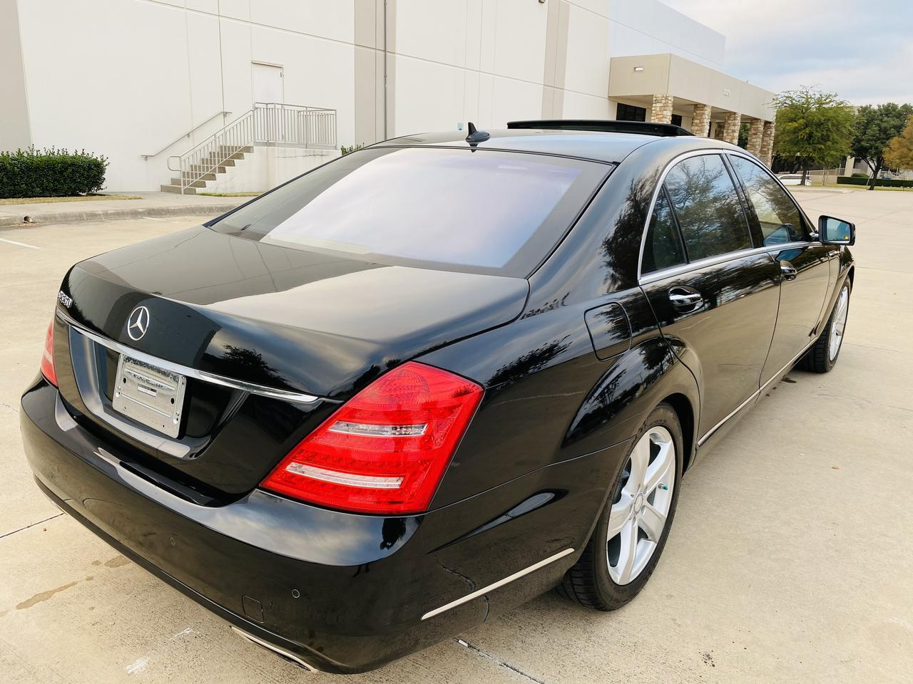 2012 Mercedes-Benz S-Class S 550 Dallas TX