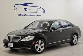 Mercedes-Benz S550 4Matic-Rear DVD Pkg 2012