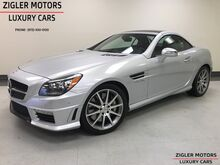2012_Mercedes-Benz_SLK 55_AMG Magic Control Pano Roof Multimedia Pkg Keyless-Go_ Addison TX