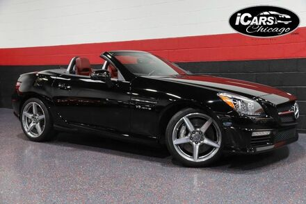 2012_Mercedes-Benz_SLK55 AMG_2dr Convertible_ Chicago IL