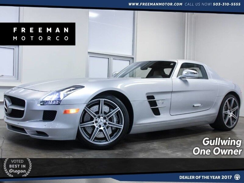 2012 Mercedes Benz SLS AMG 1 Owner Gullwing AMG Suspension Portland OR ...