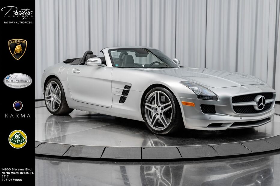 2012_Mercedes-Benz_SLS AMG_Roadster_ North Miami Beach FL