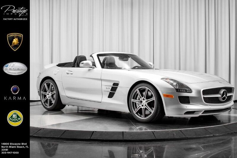 2012 mercedes benz sls amg sls amg north miami beach fl. Black Bedroom Furniture Sets. Home Design Ideas