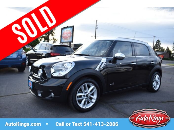 2012 Mini Cooper AWD Countryman S ALL4 Bend OR