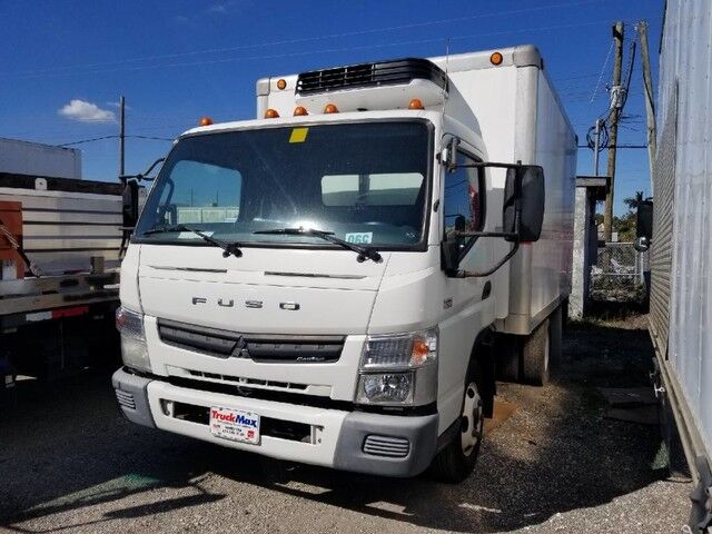 2012 Mitsubishi Fuso FE 12' Refrigerated Box Homestead FL