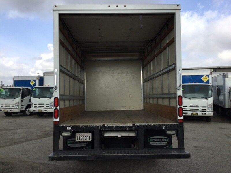 2012 Mitsubishi Fuso FE160 14Ft Box Truck with Ramp Diesel