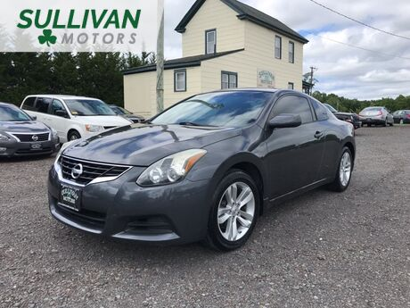 2012 Nissan Altima 2.5 S CVT Coupe Woodbine NJ