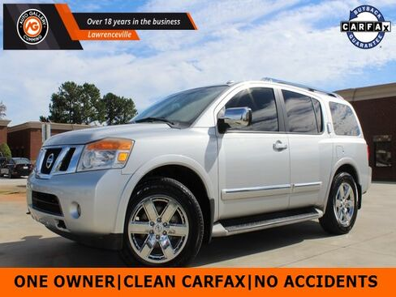 2012_Nissan_Armada_Platinum_ Gainesville GA