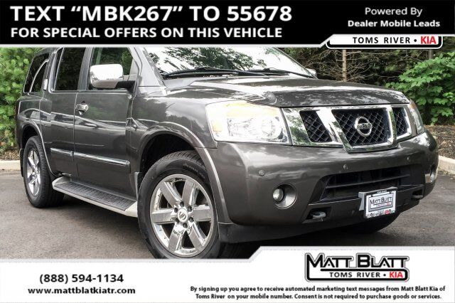 2012 Nissan Armada Platinum Egg Harbor Township NJ