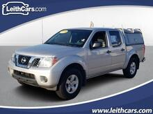 2012_Nissan_Frontier_4WD Crew Cab SWB Auto SV_ Cary NC