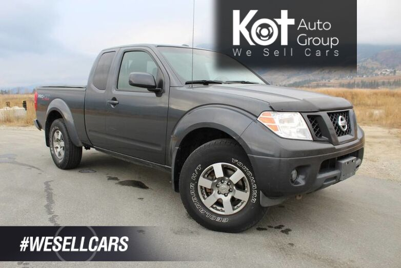 2012 Nissan Frontier PRO-4X, Tonneau Cover, No Accidents Penticton BC