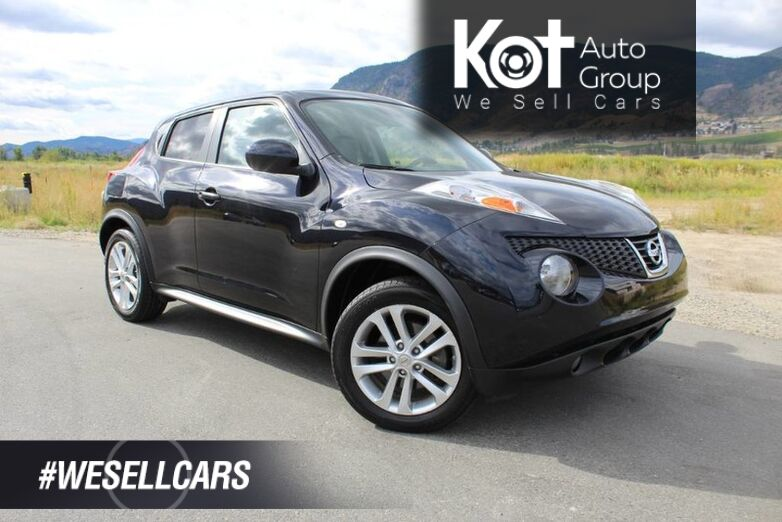 2012 Nissan JUKE SL, No Accidents, Unique Style, Navigation, Sunroof Kelowna BC